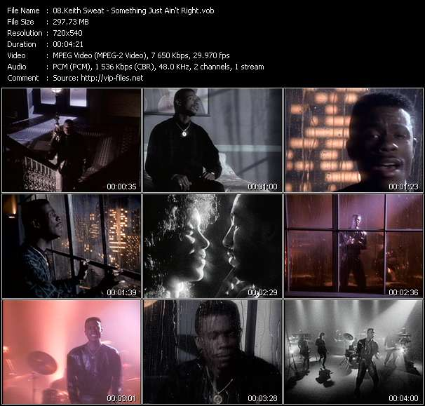 Keith Sweat Video Clip(VOB) vob