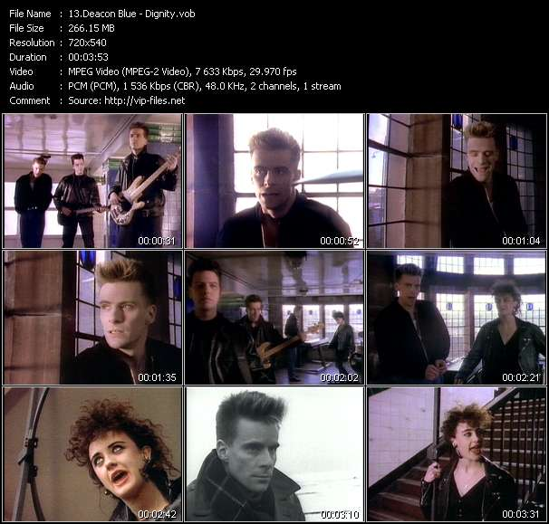 Deacon Blue Video Clip(VOB) vob
