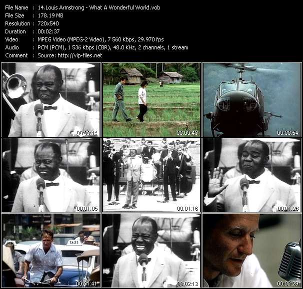 Louis Armstrong Video Clip(VOB) vob