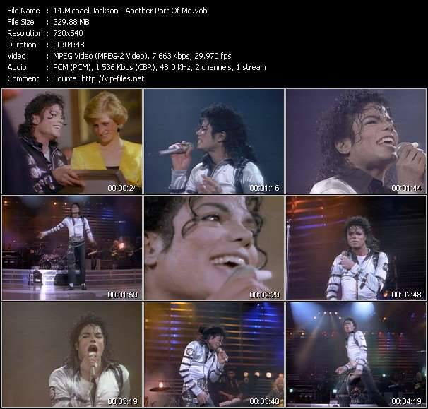 Michael Jackson Video Clip(VOB) vob
