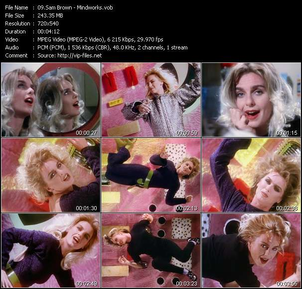 Sam Brown Video Clip(VOB) vob