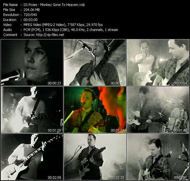 Pixies Video Clip(VOB) vob