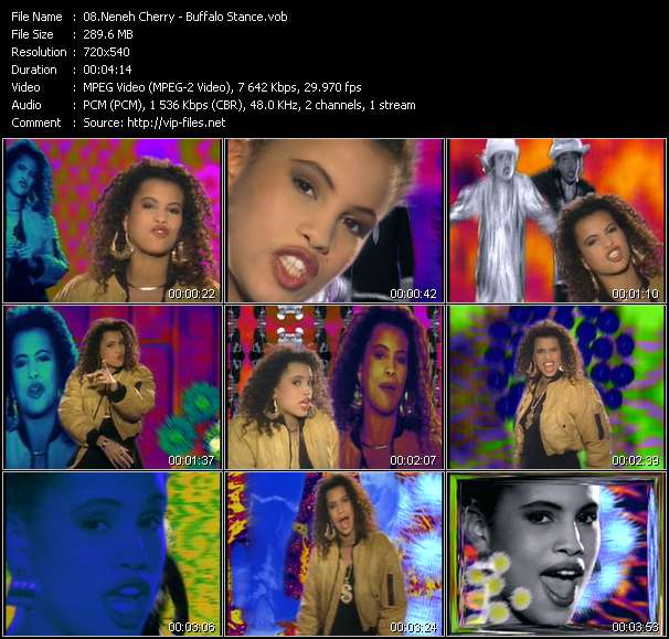 Neneh Cherry Video Clip(VOB) vob