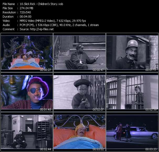 Slick Rick Video Clip(VOB) vob
