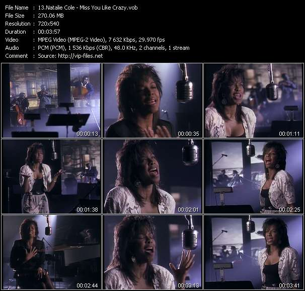 Natalie Cole Video Clip(VOB) vob