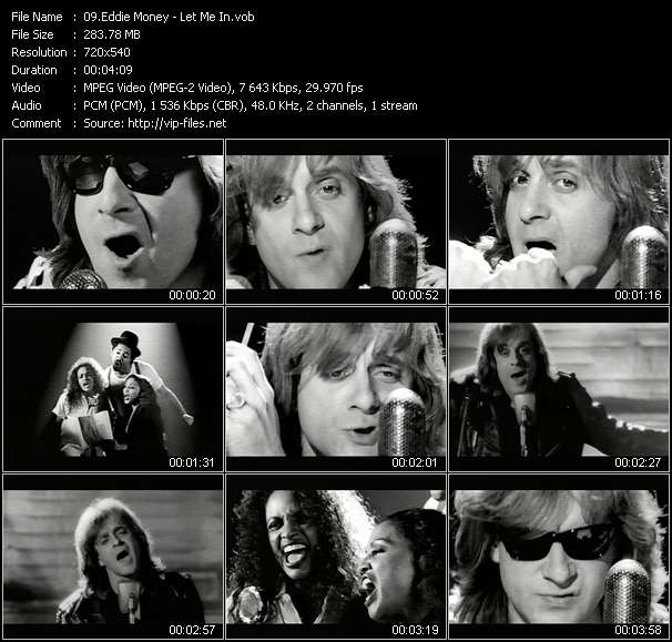 Eddie Money Video Clip(VOB) vob