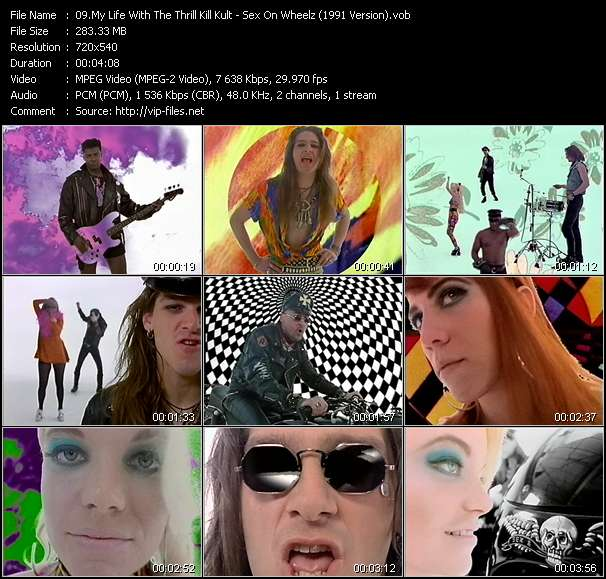 My Life With The Thrill Kill Kult Video Clip(VOB) vob