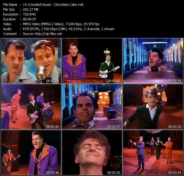 Crowded House Video Clip(VOB) vob
