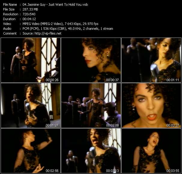 Jasmine Guy Video Clip(VOB) vob