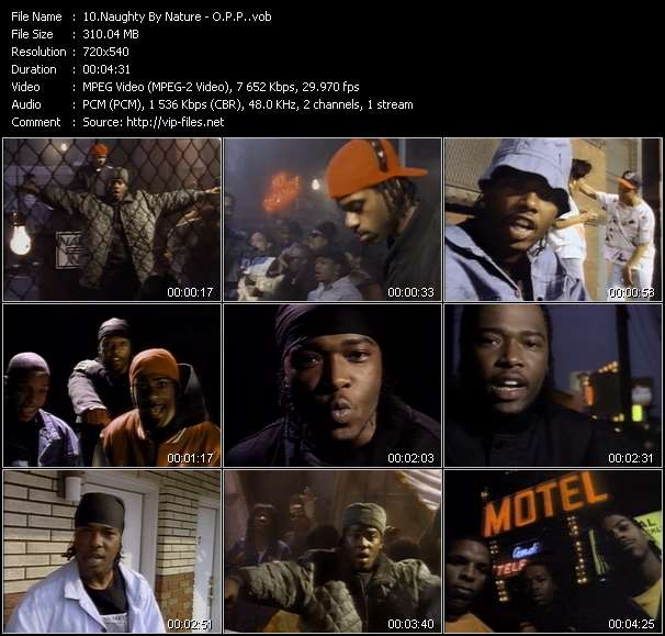 Naughty By Nature Video Clip(VOB) vob