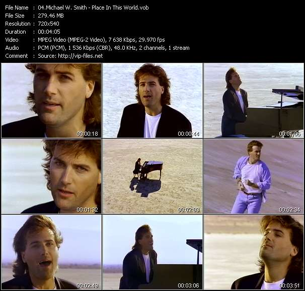 Michael W. Smith Video Clip(VOB) vob