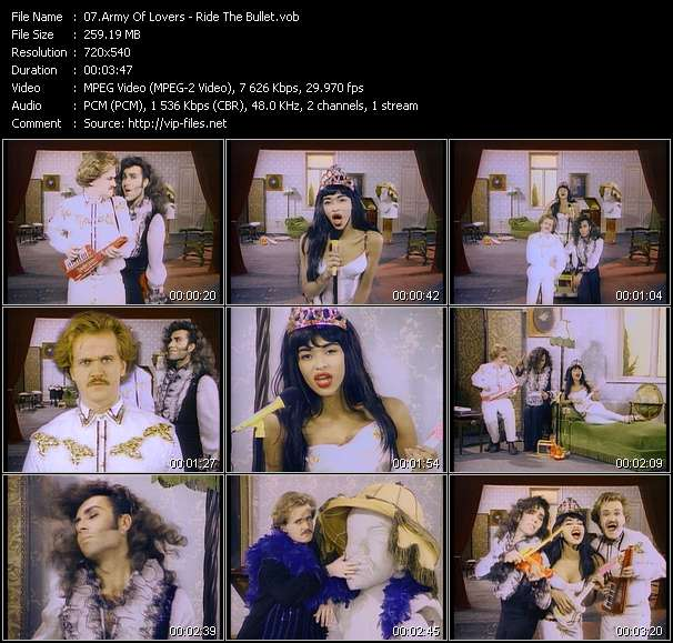 Army Of Lovers Video Clip(VOB) vob
