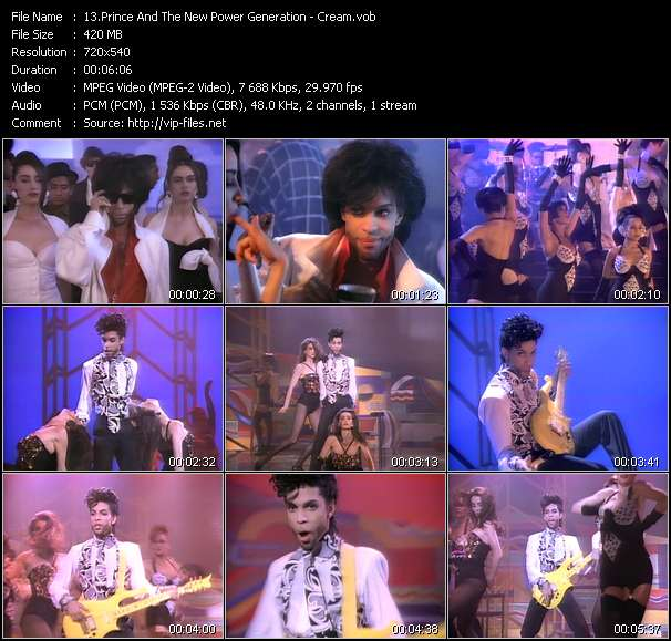 Prince And The New Power Generation Video Clip(VOB) vob
