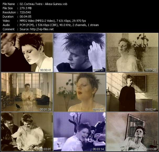 Cocteau Twins Video Clip(VOB) vob