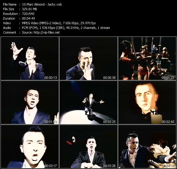 Marc Almond Video Clip(VOB) vob