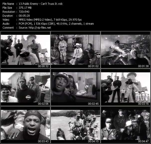 Public Enemy Video Clip(VOB) vob
