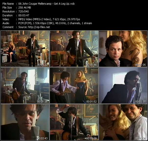 John Cougar Mellencamp Video Clip(VOB) vob