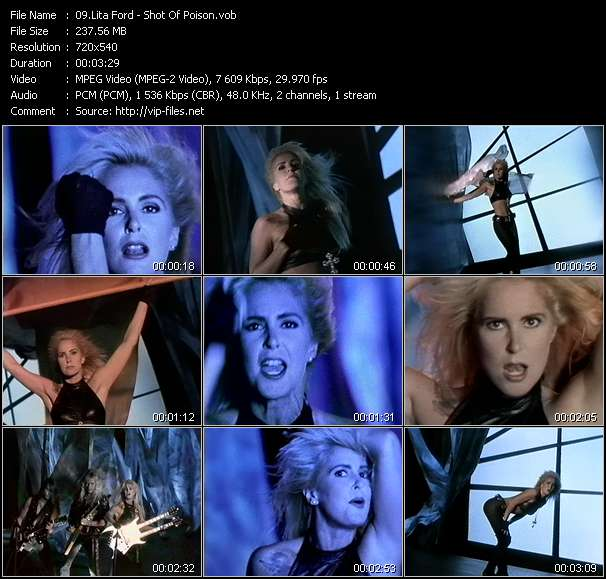 Lita Ford Video Clip(VOB) vob