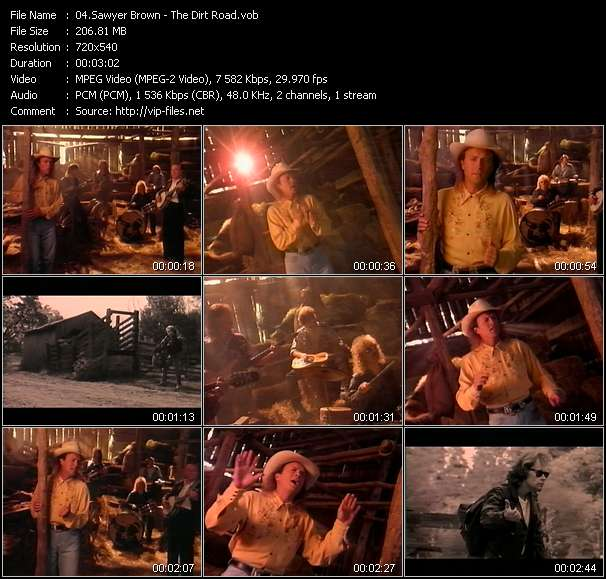 Sawyer Brown Video Clip(VOB) vob