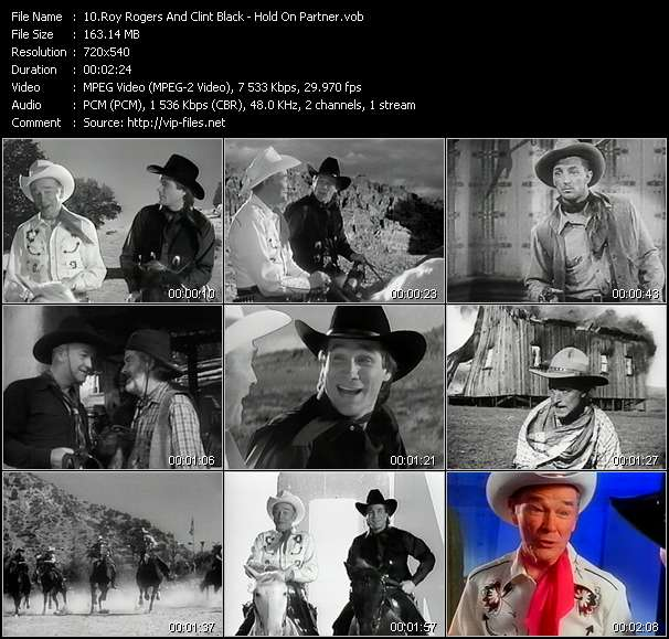 Roy Rogers And Clint Black Video Clip(VOB) vob