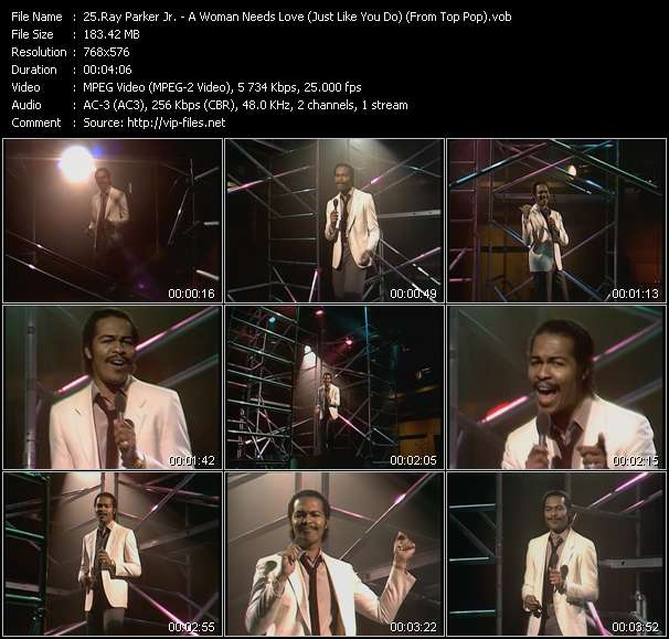 Ray Parker Jr. Video Clip(VOB) vob