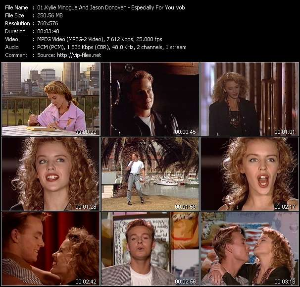 Kylie Minogue And Jason Donovan Video Clip(VOB) vob