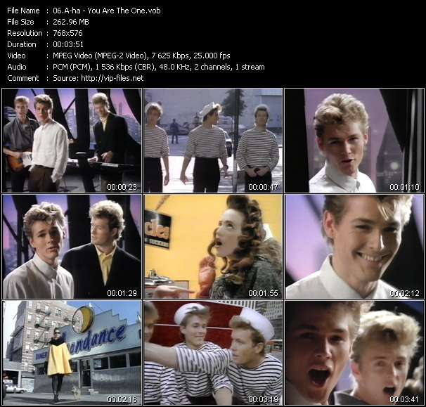 A-ha Video Clip(VOB) vob