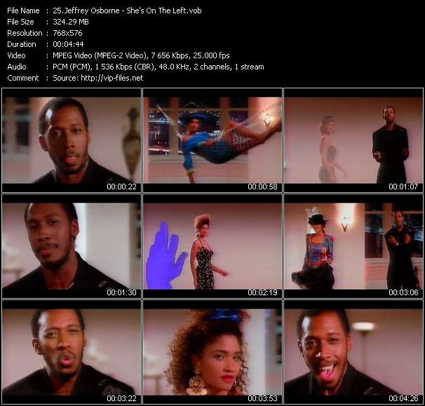 Jeffrey Osborne Video Clip(VOB) vob