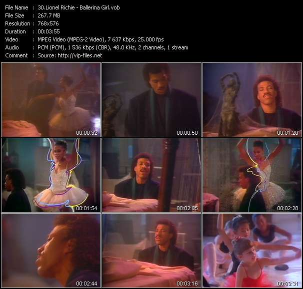 Lionel Richie Video Clip(VOB) vob