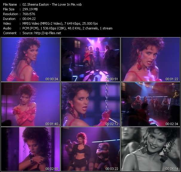 Sheena Easton Video Clip(VOB) vob