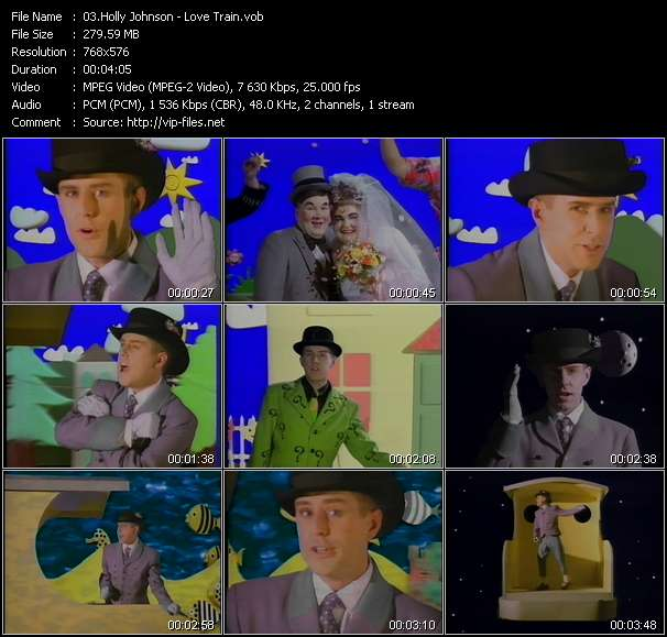 Holly Johnson Video Clip(VOB) vob