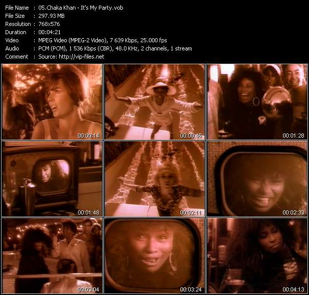 Chaka Khan Video Clip(VOB) vob
