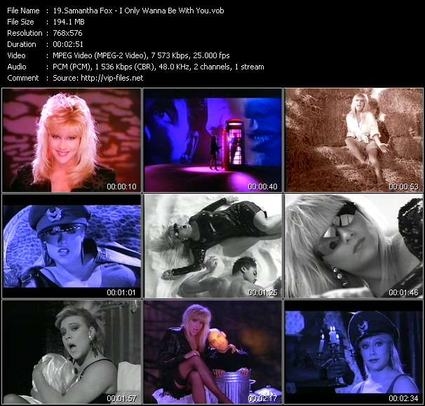 Samantha Fox Video Clip(VOB) vob