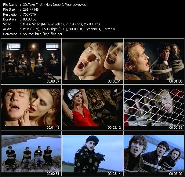 Take That Video Clip(VOB) vob