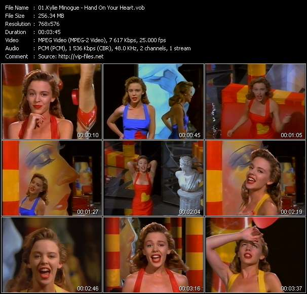 Kylie Minogue Video Clip(VOB) vob