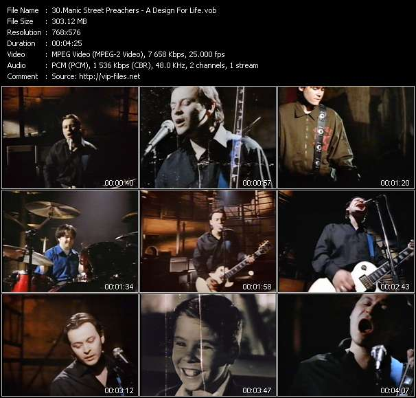 Manic Street Preachers Video Clip(VOB) vob