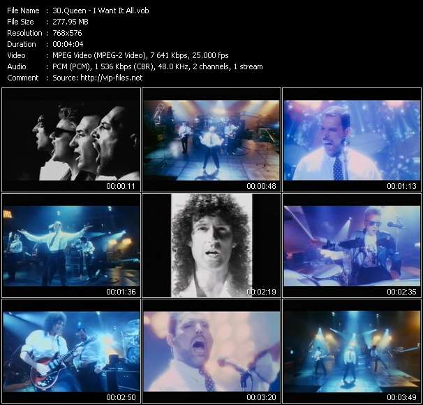 Queen Video Clip(VOB) vob