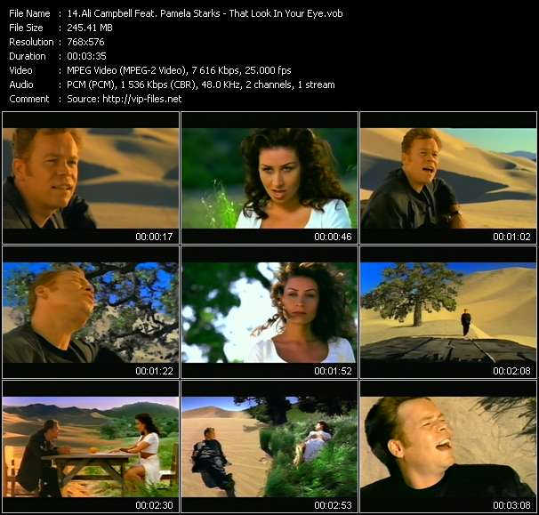 Ali Campbell Feat. Pamela Starks Video Clip(VOB) vob