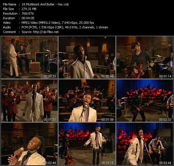 McAlmont And Butler Video Clip(VOB) vob