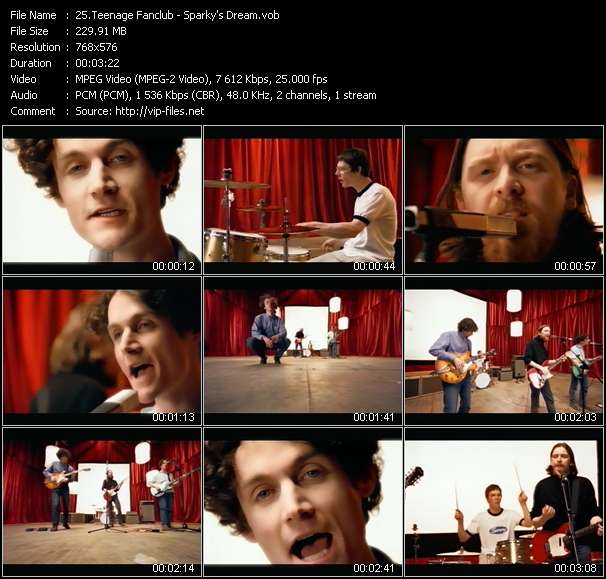Teenage Fanclub Video Clip(VOB) vob