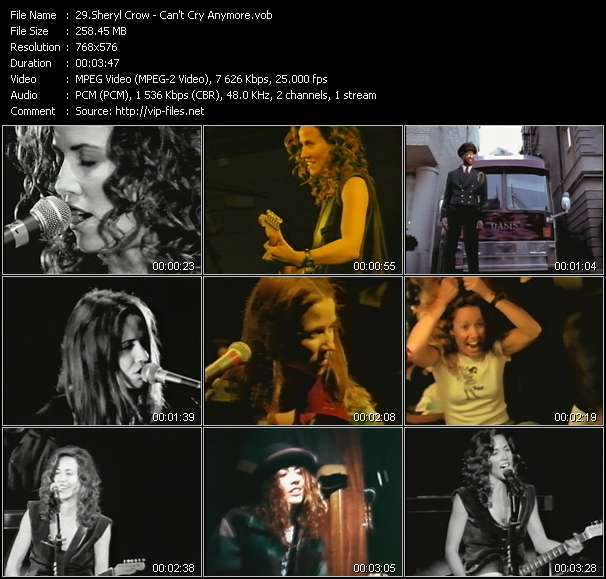 Sheryl Crow Video Clip(VOB) vob