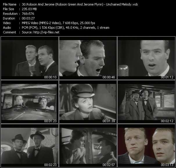 Robson And Jerome (Robson Green And Jerome Flynn) Video Clip(VOB) vob