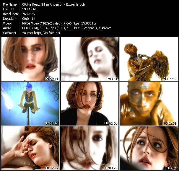 Hal Feat. Gillian Anderson Video Clip(VOB) vob