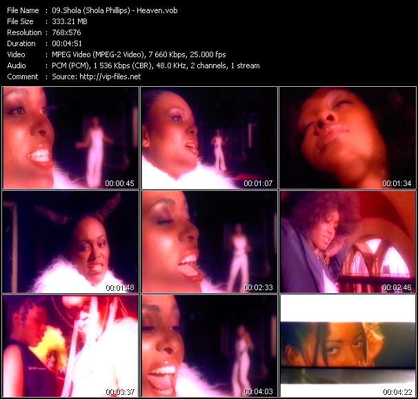 Shola (Shola Phillips) Video Clip(VOB) vob
