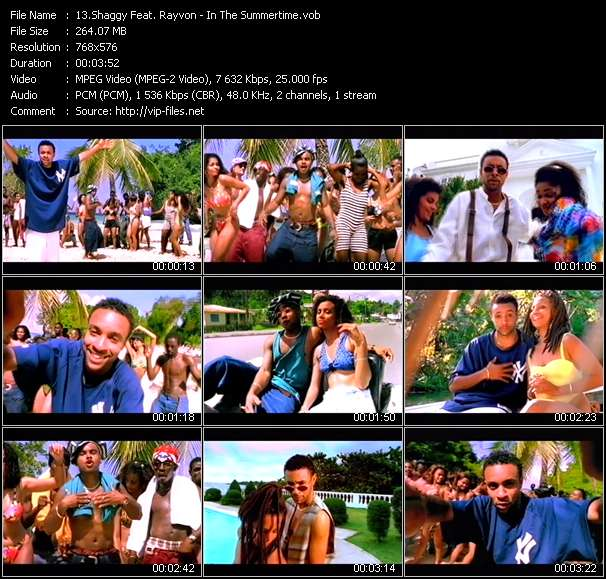 Shaggy Feat. Rayvon Video Clip(VOB) vob