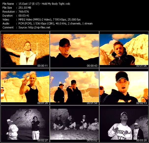 East 17 (E-17) Video Clip(VOB) vob