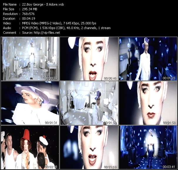 Boy George Video Clip(VOB) vob