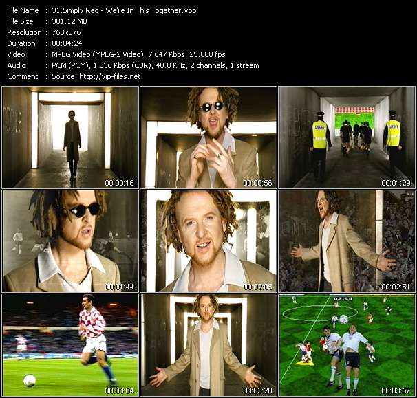 Simply Red Video Clip(VOB) vob