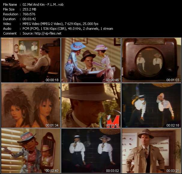 Mel And Kim Video Clip(VOB) vob
