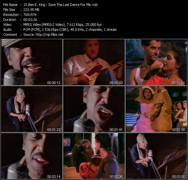 Ben E. King Video Clip(VOB) vob